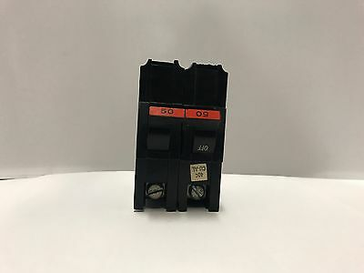FEDERAL PACIFIC FPE NA NA250 2 POLE 120/240v 50 AMP Circuit Breaker