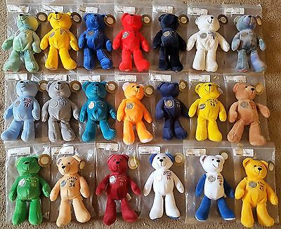 Lot of 20 Timeless Toys Collectible State Quarter Bears ~ Various States ~ NIP