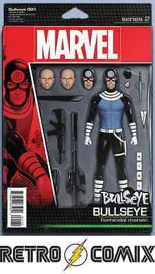 Marvel Bullseye #1 Action Figure Variant New/unread Bagged & Boarded