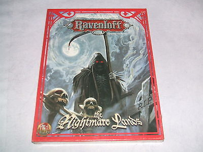 Dungeons & Dragons - RAVENLOFT THE NIGHTMARE LANDS  englisch  NEU / Sealed #