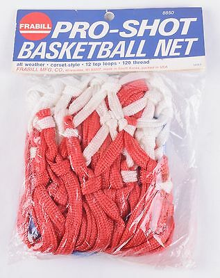 FRABILL Vintage PRO-SHOT Basketball NET New In PACKAGE NOS 12 Top LOOPS 120