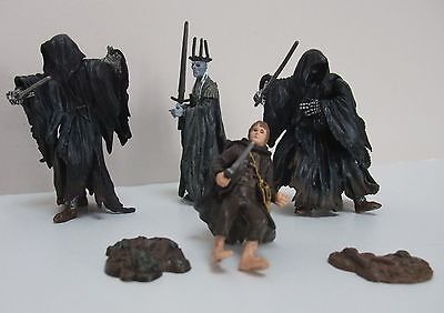 Lord Of The Rings LOTR Figures Ringwraith Sam Witch-King of Angmar