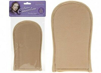 1 x Self Tanning Glove Fake Tan Mitt Easy Application No Mess