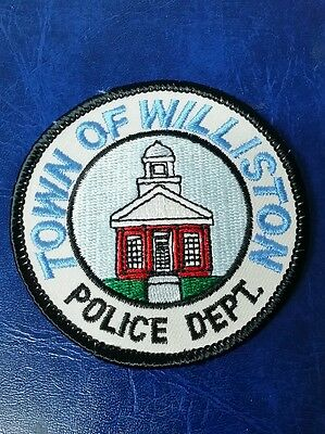 Town Of Williston, Vermont Police Shoulder Patch Vt