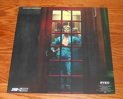 David Bowie Poster Flat 1990 Square 12x12 Ryko Sound + Vision