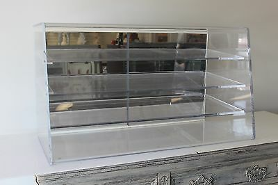 Acrylic Counter Top Pastry Display Cases – Extra Large Heavy Duty