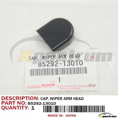 New Toyota Lexus Scion Original Oem Front Wiper Arm Head Cap Cover 85292-13010