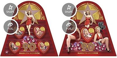 Z08 IMPERFORATED MOZ16430ab MOZAMBIQUE 2016 Marilyn Monroe MNH ** Postfrisch Set