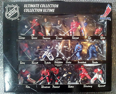 New Rare Ultimate Collection 20 Nhl Hockey Action Figures Ovechkin Price Crosby