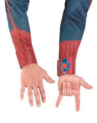 Adult The Amazing Spider-Man Red and Blue Costume Accessory Web Shooter