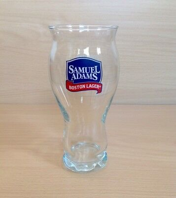 Samuel Adams Boston Lager Branded Beer 2/3 Pint Glass x1 Brand New Authentic