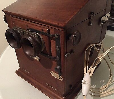 TAXIPHOTE RICHARD PLAQUES VERRE 45x107 STEREOSCOPE STEREOBETRACHTER STEREOVIEWER