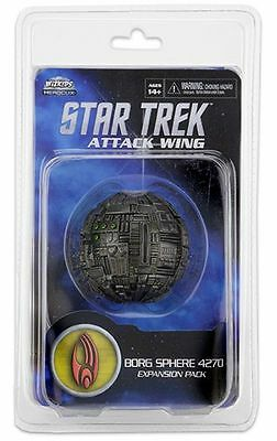 Star Trek: Attack Wing Borg Sfera nave expansion pack Ristampa ondeggiante 28