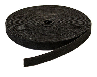 "1/2"" Inch Roll Hook and Loop Reusable Cable Ties Wraps Straps 10M 33ft"