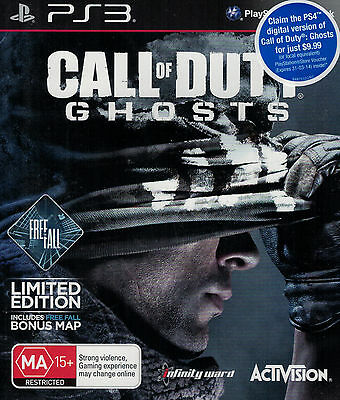 Call of Duty Ghosts, Sony Playstation 3 game complete, PS3, USED