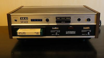 Akai Cr-80D Stereo 8 Track Player Recorder Deck.  Working