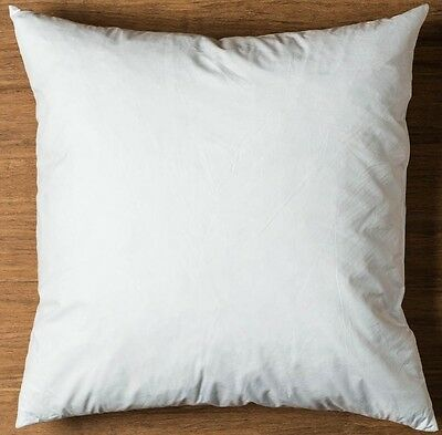 """Duck Feather Cushion Pads Inners Inserts Fillers Scatters 16"""" 18"""" 20"""" 22"""" 24"""""""