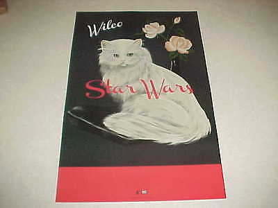 "WILCO ""STAR WARS"" Promo only poster - MINT Cndt - Ready for framing !!"