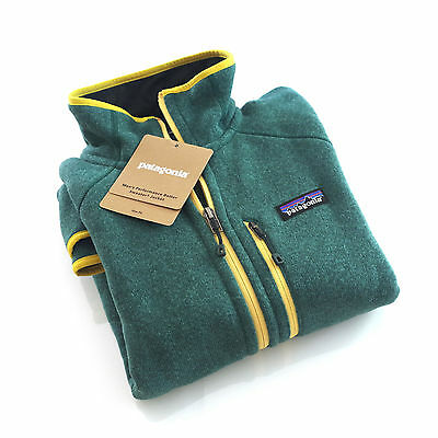 Patagonia Men's PERFORMANCE Better Sweater™ Fleece Jacket - Green LGDG - XL