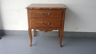Ethan Allen French Country Nightstand, End Table, Side table.