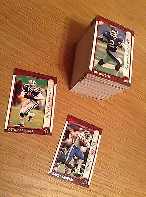 Complete Set 1999 Bowman NFL American Football Trading Cards (1-150)