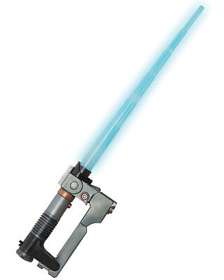 Child's Star Wars Rebels Ezra Toy Blue Lightsaber Light Saber Costume Accessory