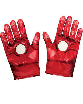Avengers Assemble Iron Man Marvel Comics Kids Gloves Costume Accessory