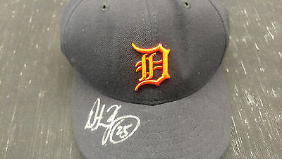 Dmitri Young Autographed Signed Detroit Tigers Hat COA