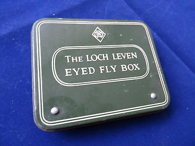 A Good Vintage Richard Wheatley Loch Leven Fly Box With Flies