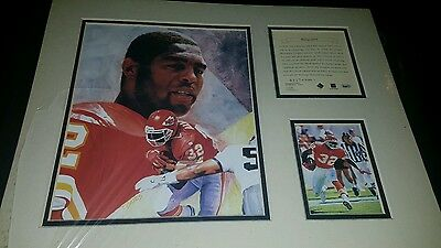MARCUS ALLEN Kelly Russell Lithograph Print Original Art Matted LIMITED EDITION