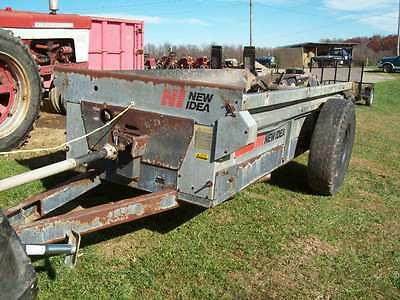 New Idea 3618 Manure Spreader  ; Good Condition ; Works Good
