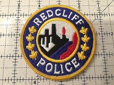Canada Alberta Patch Redcliff Police