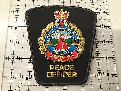 Canada Alberta Patch Enoch Cree Nation Tribal Peace Officer