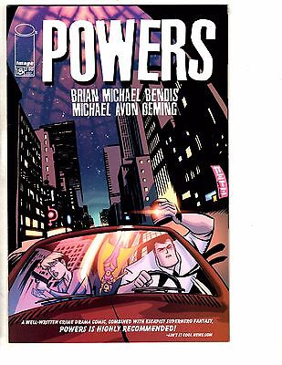 Lot Of 4 Powers Image Comic Books # 18 19 20 21 VF-NM 1st Print Brian Bendis AK7