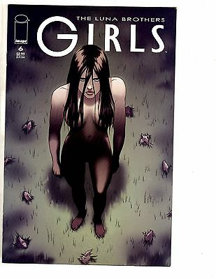Lot Of 4 Girls Image Comic Books # 6 7 8 9 VF/NM Luna Brothers 1st Prints AK3