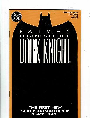 Lot of 6 Batman Legends Of The Dark Knight DC Comic Books # 1 (2) 2 3 4 7 13 HJ5