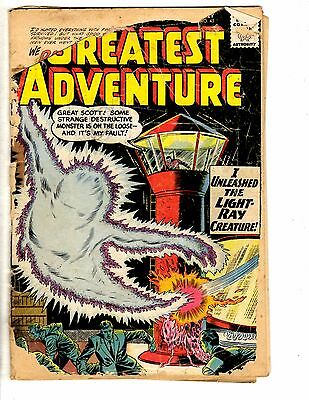 Lot Of 2 My Greatest Adventure DC Comic Books # 45 55 FR Silver Age 1960-61 CD1