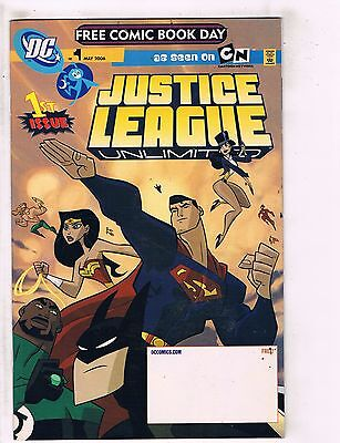 5 Free Comic Book Day Comics # 1 Justice League Sigma 6 Opening Shot D Duck J122