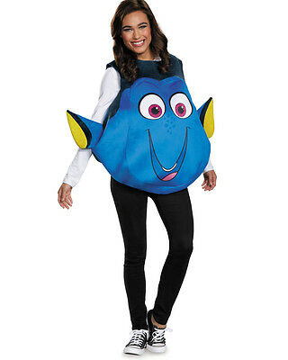 Adult's Womens Disney Finding Dory Fish Tunic Costume Costume One Size