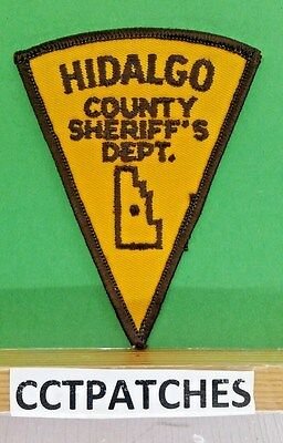 Hidalgo County, New Mexico Sheriff Police Triangle Shoulder Patch Nm