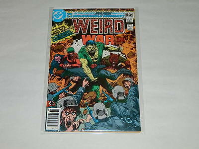 WEIRD WAR TALES 93 - RARE Comic - 1st Appearance of The CREATURE COMMANDOS! DC