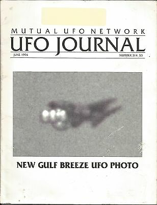 MUFON  Mutual UFO Network Journal Magazine Gulf Breeze UFO Photo June 1994