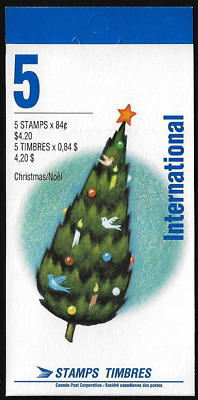 Canada - Booklet Pane of 5 - Christmas, Personages Weihnachtsmann #1454a (BK152)