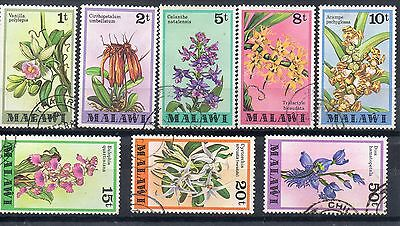 MALAWI 1979 SG 577 to 586 VFU   Thematic: FLOWERS