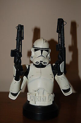 Star Wars GENTLE GIANT Clone Trooper Deluxe Collectible Bust/Statue 10767/15000