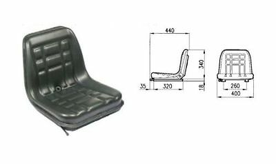Cobo Gt-60 Seat With Adjustable Guide For Tractor Fiat-Landini-Same Etc.