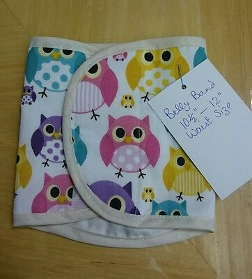 """Dog Belly Band stop spraying mating 10.5""""/11"""" waist. New and Tagged. OWLS"""
