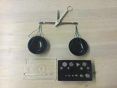 Vintage Russian/USSR Apothecary Scale Balance With Weights 70's