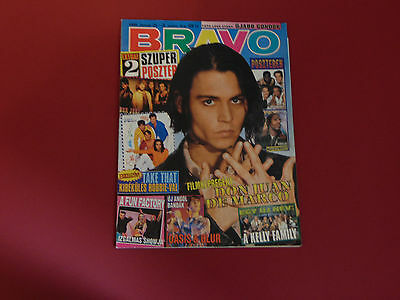 JOHNNY DEPP cover Hungarian magazine 1996 Kelly Family Bon Jovi Take That Coolio