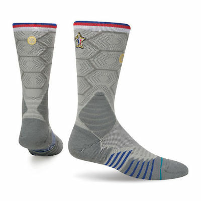 Stance Eastern Conference Gray 2017 All-Star Game On-Court Crew Socks - NBA